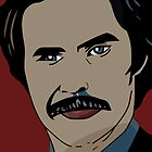 Anchorman 2 - Ron Burgundy  by Slice-of-Pizzo