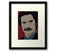 Anchorman 2 - Ron Burgundy  Framed Print