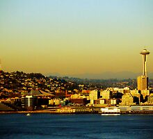 Seattle Space needle by jonna-esplana