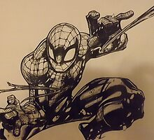 The Amazing Spiderman by blackknightart1