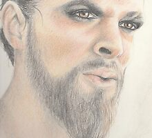 Khal Drogo - Dothraki Game of Thrones by Carolyn Roper