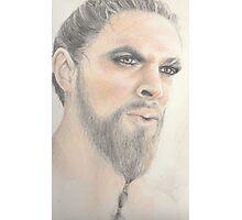 Khal Drogo - Dothraki Game of Thrones Photographic Print