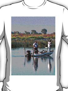 Delta Bass Boat Fish'n T-Shirt