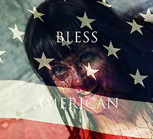 God Bless American Mary Poster by Kaari