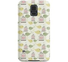 Seamless birds pattern Samsung Galaxy Case/Skin