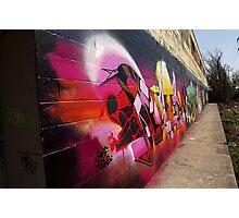 "Classic Graffiti on a ""Permission Wall""- Photographic Print"