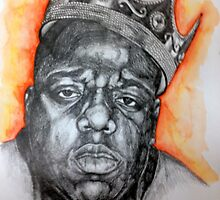 Notorious B.I.G by Chantel Smith