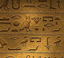 Egypt Egyptian Hieroglyphics by Gotcha29