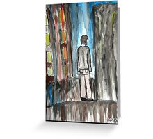Life is Protest Greeting Card