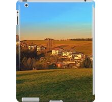 Village above the valley | landscape photography iPad Case/Skin