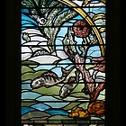 Stained Glass Art Nouveau Detail by patjila