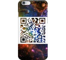 QR Code Galaxy Eagle iPhone Case/Skin