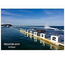 Merewether Baths - Beachcomber Series Photographic Print