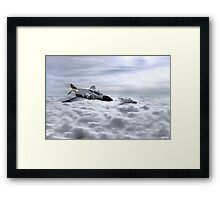 Navy Phantoms Framed Print