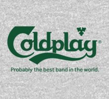 Coldplay Carlsberg Logo T-Shirt by Robert Smith