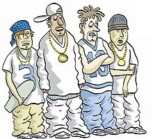 Gangstas by MacKaycartoons