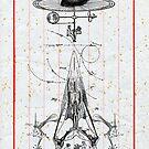 CUERVO CABEZA DE MAQUINA (machine head crow) by Alvaro Sánchez