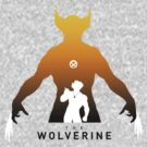 The Wolverine, Logan Silhouettes yellow by cocolima