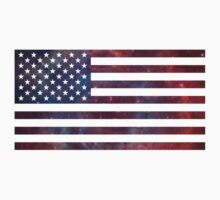 US Flag Nebula by everyonedesigns