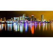 Miami the Magic City Photographic Print
