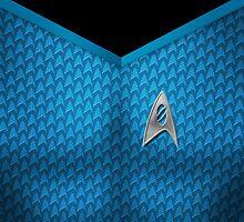 Star Trek Series - Scientist Suit by robozcapoz