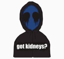 Eyeless Jack Got Kidneys? by GrimDork