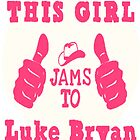 Luke Bryan - iPhone 4 & Samsung Galaxy Case by ckim8888