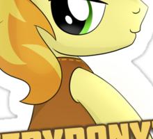 Gay for Braeburn Shirt (My Little Pony: Friendship is Magic) Sticker