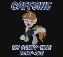 Caffeine: My Party Time Mint-als (Little Pip from Fallout: Equestria) by broniesunite