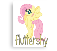 Fluttershy (from My Little Pony: Friendship is Magic) Canvas Print