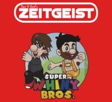 Dan & Karl's Zeitgeist - Super Whiny Bros. -WHITE-  by Dan And Karl's Zeitgeist