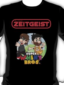 Dan & Karl's Zeitgeist - Super Whiny Bros. -RED-  T-Shirt
