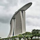 Marina Bay Sands Hotel, Singapore by Geoffrey Higges