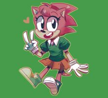 Sonic CD Amy by livethefaggotry