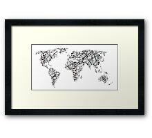 Nomad - Globetrotter Framed Print