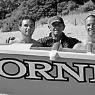 Lorne's McCombes --- surfboat rowers by Andy Berry