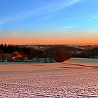 Winterscape sunset by Patrick Jobst