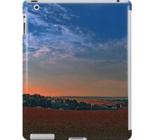 Small rural town skyline at sunrise II | landscape photography iPad Case/Skin