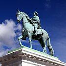 Equestrian Statue of Frederik V by John Dalkin