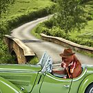 Axel on a Sunday drive by Lover1969