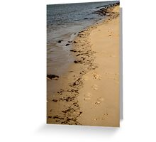 Tide Lines Greeting Card