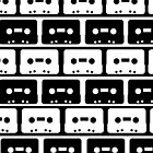 Cassettes Black by rapplatt