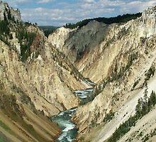 Grand Canyon of the Yellowstone by Ken Smith