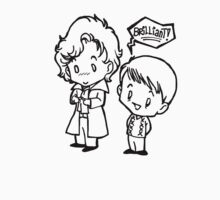 Sherlock and John - Brilliant - B&W Kids Clothes