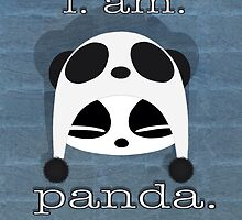 i. am. panda. by wackjobcuties