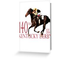 Kentucky Derby 2014 Greeting Card