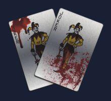 The Joker's Bloody Cards by MacRudd