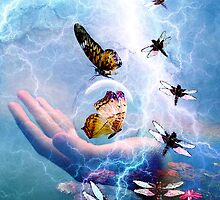 IN THE EYE OF THE STORM ~ TRANSFORMATION by Tammera