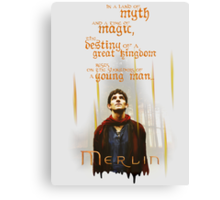 Merlin: Myth and Magic Canvas Print