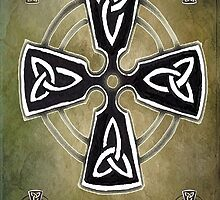The Celtic Cross Celtic Symbol by GrimalkinStudio